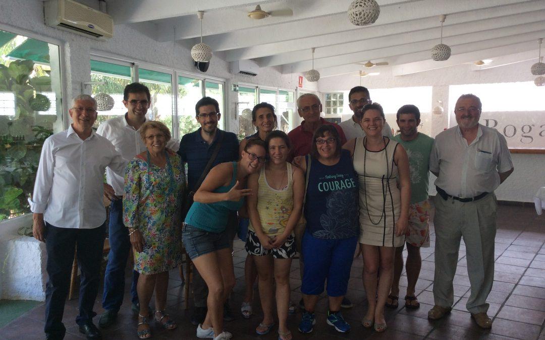 Restaurante Boga: Vivo ejemplo de inclusión en la playa de Gandía