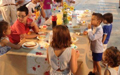 Cena del Clavario Menor a la fiesta de San Vicente (Benimámet)