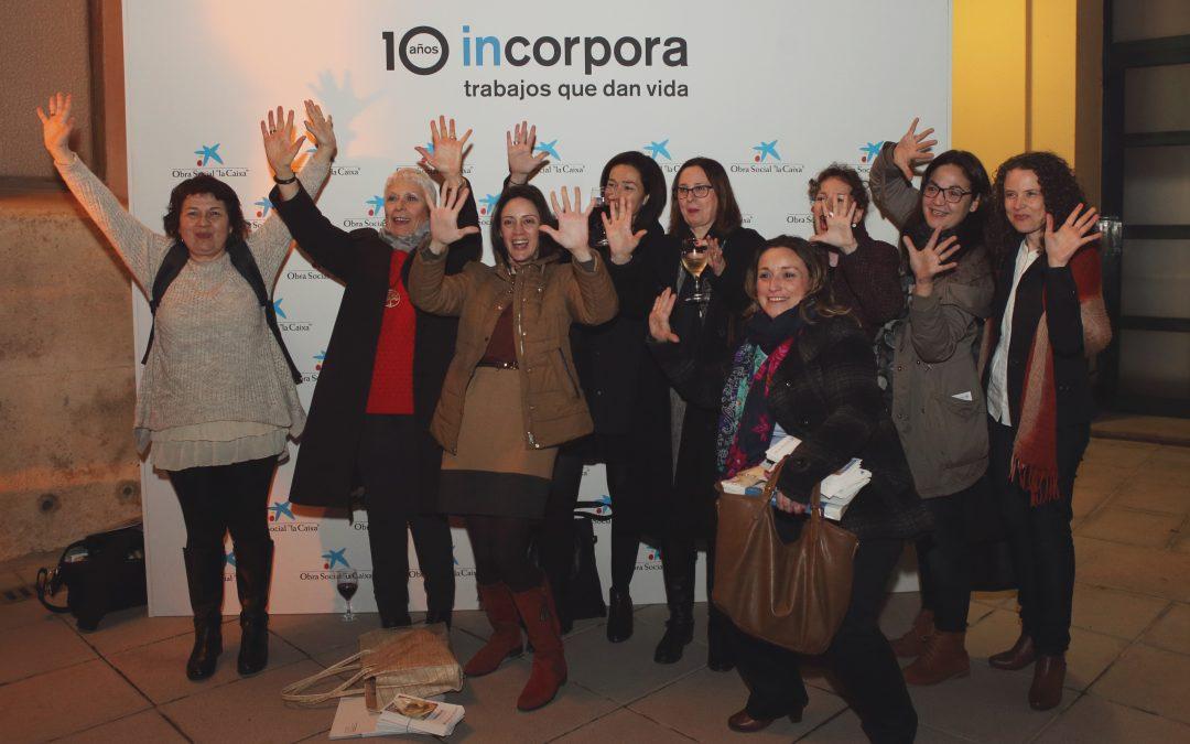 """El Programa Incorpora de la Obra social """"la Caixa"""" cumple 10 años, y elige Novaterra para celebrarlo"""